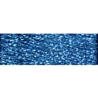 Мулине DMC 8м, е3843 голубой,т.,металл.