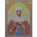 Рисунок для вышивания бисером Каролинка КБИ-5049/1  «Св. Муч. Светлана»  13*18 см