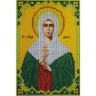 Рисунок для вышивания бисером Каролинка КБИ-5060  «Св. Муч.дарья»  12,5*18,5 см