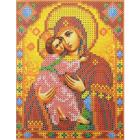 Рисунок для вышивания бисером Каролинка КБИ-5078  «Владимирская»  12*16 см