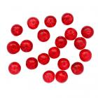 Бусины Астра стекло «Кракле» 8 мм (уп. 46 шт.) 1301138/7717840 красный