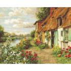 Набор для вышивания Luca-S G571 «Пейзаж» 24*30 см (гобелен)