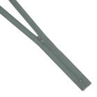 Молния Т3 спираль авт. плател. 50 см 304 серый