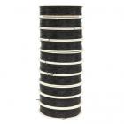 Резинка для бисероплетения 0,6 мм 0215-1000 чёрный (уп. 25 м) 676509