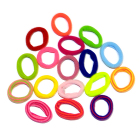 Резинка для волос кольцо Р 2 см «Цветной набор»