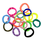 Резинка для волос кольцо Р 5 см  «Цветной набор»