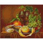 Рисунок на ткани «Конек 9654 Голландский натюрморт » 29*39 см