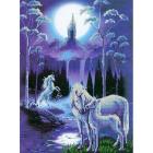 Рисунок на ткани «Конек 9864 Лунная ночь» 29*39 см