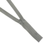 Молния Т3 потайная 50 см 317S (305К) серый