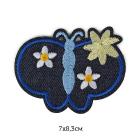 Термоаппликация TEP.RO.18 «Бабочка» черный 7*8,3 см