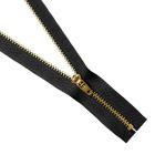 Молния Т4 джинс. п/авт.М-4002. 18 см MaxZipper золото/черный