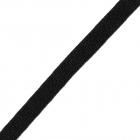 Шнур плоский 3AR498 шир.10 мм (уп 70 м)  черный
