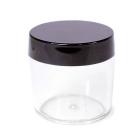 Пузырек 50 г с чёрной крышкой 4,1*4,3 см