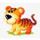 Набор для вышивания Чудесная Игла №10-29 «Тигренок» 12*11 см