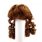Волосы для кукол П 80 (локоны) 20540 каштановый