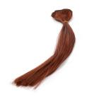Волосы для кукол (трессы) В-45 см L-30 см TBY36822 каштан   (уп 2 шт)