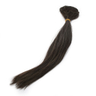 Волосы для кукол (трессы) В-45 см L-30 см TBY36823 т.шоколад   (уп 2 шт)
