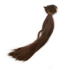 Волосы для кукол (трессы) В-50 см L-30 см TBY36808 коричневый Р04  (уп 2 шт)