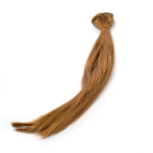 Волосы для кукол (трессы) В-50 см L-30 см TBY36812 русый Р27А (уп 2 шт)