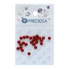 Бусины Crystal Preciosa 131-10-011 Хрустальный жемчуг 4 мм (уп 25 шт) красный