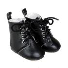 Обувь для игрушек (Ботиночки) 4258999 7,0 см на завязках пара черный