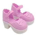 Обувь для игрушек (Туфли) AR548 7,0 см  розовый (пара)