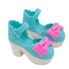 Обувь для игрушек (Туфли) AR548 7,0 см  синий  (пара)