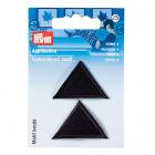Термоаппликация 925275 «Треугольники» Prym черный  (уп 2 шт) 343150