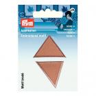 Термоаппликация 925327 «Треугольники» Prym т.бежевый  (уп 2 шт) 343156