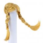 Волосы для кукол AS16-17 5*10  см парик (косички) рыжий