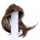 Волосы для кукол AS16-19 5*15  см парик (прямые волосы) коричневый