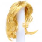 Волосы для кукол AS16-19 5*15  см парик (прямые волосы) рыжий