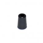 Наконечник пласт. колокольчик 4*8 мм без крышки уп.100 шт.черный
