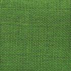 Ткань 48*50 см «Рогожка» 100% лен 2AR113 зеленый  7726928