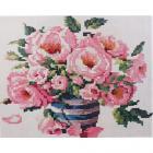 Алмазная мозаика Кристалл на дер.осн. GZ011 «Букет роз» 50*40 см