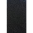 Заплатка глиттер с клеевым слоем на тыльной стороне 504 черная 121/GB 20*15 см
