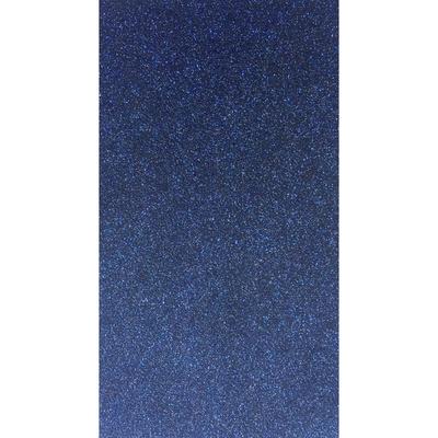 Заплатка глиттер с клеевым слоем на тыльной стороне 547 темно-синяя 121/GB 20*15 см в интернет-магазине Швейпрофи.рф