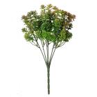 Цветок искусственный  AR370  «Ветка зелени» 27 см 7727971