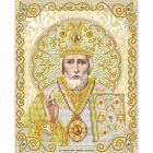 Рисунок для вышивания бисером Благовест ЖС-5006 «Св.Николай в жемчуге» 13,5*17 см