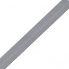Косая бейка 15 мм стрейч 0511-0071 (уп. 132 м)  серый