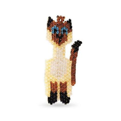 Набор для бисероплет.Кроше А-068 «Кот сиамский» 645146 в интернет-магазине Швейпрофи.рф