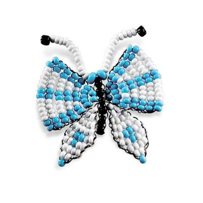 Набор для бисероплет.Кроше А-072 «Бабочка» 645083 в интернет-магазине Швейпрофи.рф