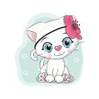 Набор для раскрашивания Molly KH0454  «Кошечка-красотка» 20*20 см