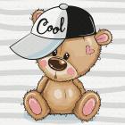 Набор для раскрашивания Molly KH0459  «Медвежонок  в кепке» 20*20 см