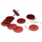 Набор креплений для игрушек 902221 (5 Т-шплинтов,10 дисков фибра 25 мм)