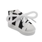 Обувь для игрушек (Кеды) AR 1046  3.5*4*7 см чёрный/белый  7728273