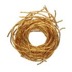 Проволока декоративная (трунцал) д.0,7 мм ТК001НН07 золото (уп 5 гр) 559927