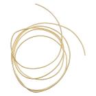 Проволока декоративная (трунцал) д.1,2 мм КЖ003НН12 жесткая  светлое золото