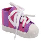 Обувь для игрушек (Кеды) AR 1046  3.5*4*7 см розовый/фиолетовый  7728273