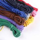 Шнур резиновый 2 мм (уп. 10 м одного цвета) цветной